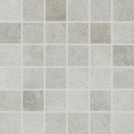 Mozaika Rako Form šedá 30x30 cm, mat, rektifikovaná FINEZA46338