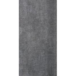 Schodovka Multi Tahiti tmavo šedá 30x60 cm mat DCPSE514.1