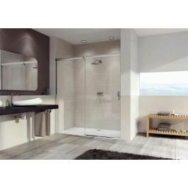 Sprchové dvere 120x200 cm levá Huppe Aura elegance chróm lesklý 401414.092.322