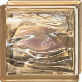 Luxfera Glassblocks Perla Oro 19x19x8 cm sklo AQBQ19PORO