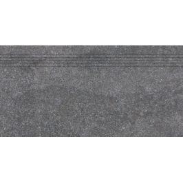 Schodovka Rako Kaamos čierna 30x60 cm mat DCPSE588.1