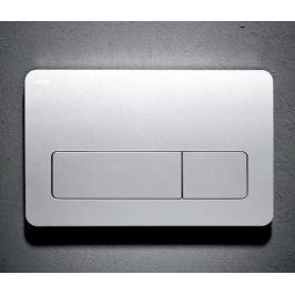 Dvojčinné ovládacie tlačidlo Jika plast, chróm 9366.4.007.000.1