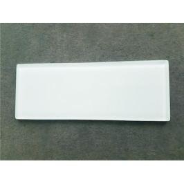 Zakončovací sklo Glassblocks biela 7,3x19 cm sklo GBZAKONSKLO