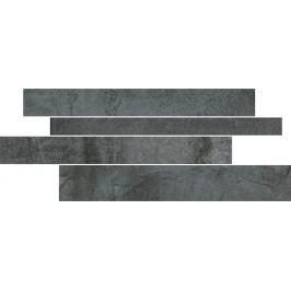 Mozaika Del Conca Climb black 30x60 cm mat FHCL836