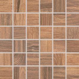 Mozaika Rako Board hnedá 30x30 cm mat DDM06143.1