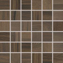 Mozaika Rako Board tmavo hnedá 30x30 cm mat DDM06144.1