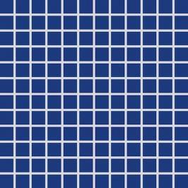 Mozaika Rako Color Two kobaltovo modrá 30x30 cm, mat GDM02005.1