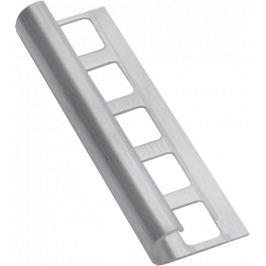 Havos Lišta ukončovacia oblá kartáčovaná nerez, 10 mm, 250 cm NRZOK10250