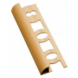 Profil-EU Lišta ukončovacia oblá PVC broskyňa, 8 mm, 250 cm L825026