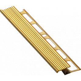 Havos Lišta schodová Z mosadz, 10 mm, 250 cm MOSC10250