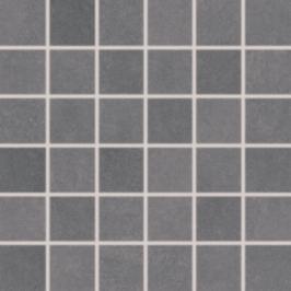 Mozaika Rako Clay tmavo šedá 30x30 cm mat DDM06642.1