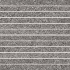 Mozaika Rako Rock tmavo šedá 30x30 cm, mat, rektifikovaná DDP34636.1