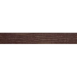 Dekor Rako Defile hnedá 9x60 cm, mat, rektifikovaná DDRST361.1