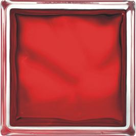 Glassblocks Luxfera 19x19 cm, red 1908WREBR