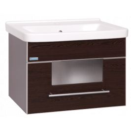 Kúpeľňová skrinka s umývadlom Naturel Wenge 65x48,5 cm wenge WENGE65Z