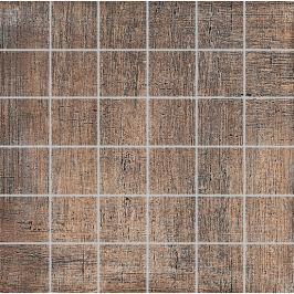 Mozaika Dom Khadi red 33x33 cm, mat DKHX50