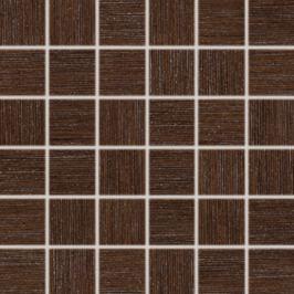 Mozaika Rako Defile hnedá 30x30 cm, mat, rektifikovaná DDM06361.1