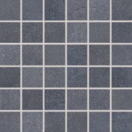 Mozaika Rako Sandstone Plus čierna 30x30 cm, mat, rektifikovaná DDM06273.1