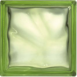 Luxfera Glassblocks green 19x19x8 cm sklo 1908WGREEN