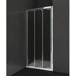 Sprchové dvere Anima Epd posuvné 80 cm, nepriehľadné sklo, chróm profil EPD80CRCH