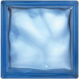 Luxfera Glassblocks blue 19x19x8 cm sklo 1908WBLUE