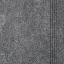 Schodovka Multi Tahiti tmavo šedá 33x33 cm mat DCP3B514.1