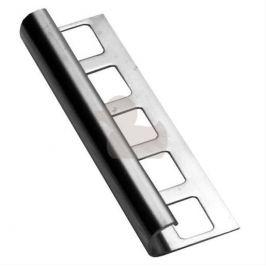 Havos Lišta ukončovacia oblá nerez, 8 mm, 250 cm NRZO8250
