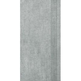 Schodovka Multi Tahiti svetlo šedá 30x60 cm mat DCKSE513.1