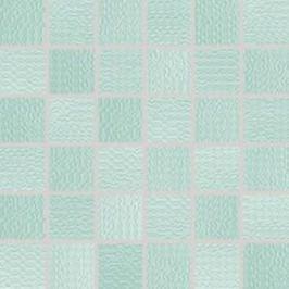 Mozaika Rako Trinity tyrkysová 30x30 cm lesk WDM05091.1