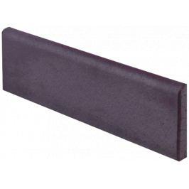 Sokel Gresan Onix čierna 8x33 cm mat GROSK833