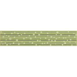 Listela Rako Delta zelená 5x25 cm lesk WLAGE149.1