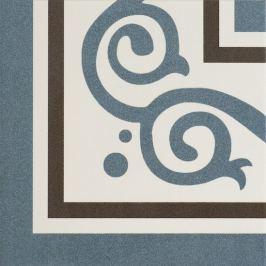 Roh Peronda FS Patchworks Berkeley slate blue 22,5x22,5 cm mat TBERKELEYSBL