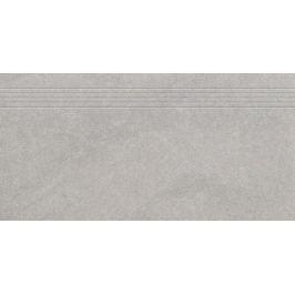 Schodovka Rako Kaamos šedá 40x80 cm mat DCP84587.1