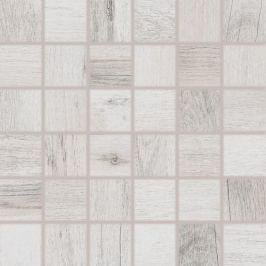 Mozaika Rako Saloon bielošedá 30x30 cm mat DDM06745.1