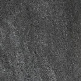 Dlažba Rako Quarzit čierna 60x60 cm leštěná DAL63739.1