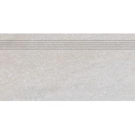 Schodovka Rako Quarzit šedá 30x60 cm mat DCPSE737.1