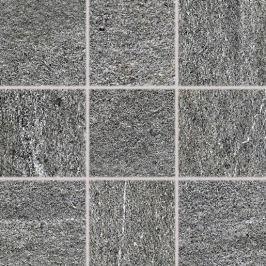 Dlažba Rako Quarzit tmavo šedá 10x10 cm mat DAR12738.1