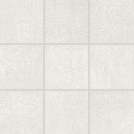 Dlažba Rako Rebel bielošedá 10x10 cm mat DAK12740.1