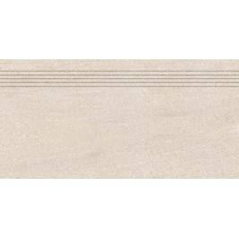 Schodovka Rako Quarzit béžová 30x60 cm mat DCPSE735.1