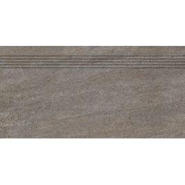 Schodovka Rako Quarzit hnedá 30x60 cm mat DCPSE736.1