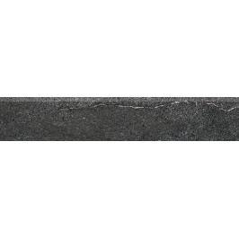 Sokel Rako Quarzit čierna 8,5x45 cm mat DSAPM739.1