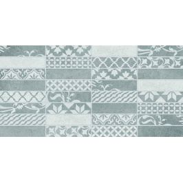 Dekor Multi Borneo svetlo šedá patchwork 20x40 cm mat WARMB444.1