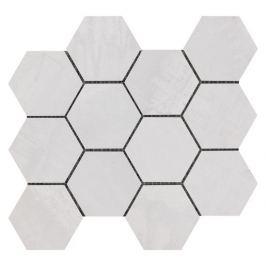 Mozaika Sintesi Met Arch light silver 30x34 cm mat MA12462