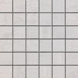 Mozaika Sintesi Met Arch light silver 30x30 cm mat MA12457