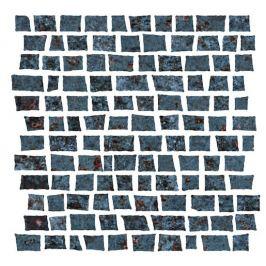 Mozaika Cir Metallo nero 30x30 cm mat 1062376