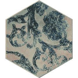 Dekor Cir Miami blue hexagon colins 24x27,7 cm mat 1064136
