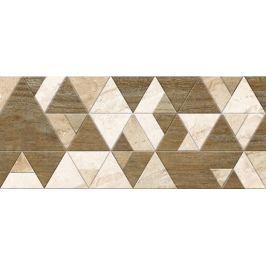 Dekor Fineza Adore beige triangles 25x60 cm mat DADORE256TR