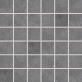 Mozaika Rako Betonico čierna 30x30 cm mat DDM06792.1