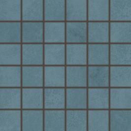 Mozaika Rako Blend tmavo modrá 30x30 cm mat WDM06811.1