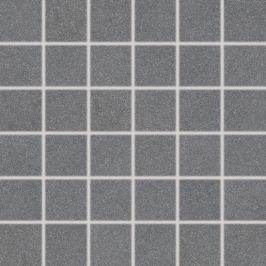 Mozaika Rako Block čierna 30x30 cm mat DDM06783.1